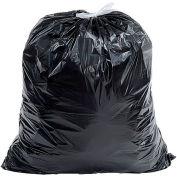 Sacs à ordures industriel Drawstring Draw-Tuff®, 40-45 Gal, noir, 1,4 Mil, 150/caisse