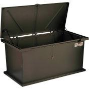 """TuffBoxx Kodiak Animal Resistant Storage Bin - 60"""" x 24"""" x 30"""" - Charcoal"""