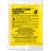 Stearns GS Neutral Cleaner Concentrate - 1 oz Packs, 144 Packs/Case - 2384507
