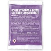 Stearns GS toilettes & Bowl Cleaner concentré-2 oz packs, 72 paquets/case-2385108