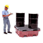 UltraTech Ultra-Spill King® 0801 Drum Pallet and Sump with No Drain