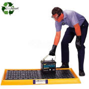 UltraTech Ultra-Containment Tray® 2350 with Grating - Black