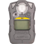 Altair® 2XP Gas Detector, Hydrogen Sulfide H2S, Gray, 10153984