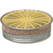 Cartouches de respirateur MSA Comfo®, gaz de vapeur/acide organique, 10/Pack, 464046