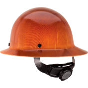 MSA Skullgard® Hard Hats, Full Brim, Fas-Trac® Suspension, Natural Tan, 475407