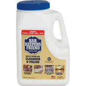 Bar Keepers Friend Powdered Cleanser and Polish, 10 lbs, 4/Case - 11512