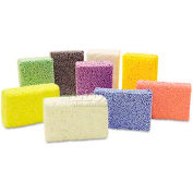 Creativity Street 9651 Squishy Foam Classpack, Assorted Colors, 36 Blocks
