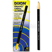 Dixon 77 China Marker, Black, Dozen