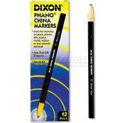 Dixon 77 Chine marqueur, noir, douzaine