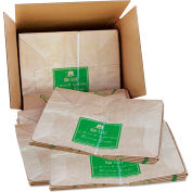Lawn/Leaf Self-Standing Bags, 30 gal, 16 x 12 x 35, Kraft Brown, 50/Carton - 13818