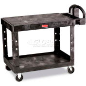 Rubbermaid® 4525 Flat Shelf Plastic Service & Utility Cart 44 x 25
