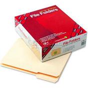Smead® File Folder, 1/3 Cut First Position, Reinforced Top Tab, Letter, Manila, 100/Box