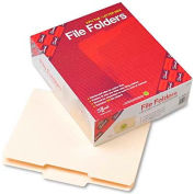 Smead® File Folder, 1/3 Cut Second Position, Reinforced Top Tab Letter, Manila, 100/Box