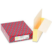 "Smead® 3-1/2"" Accordion Expansion End Tab File Pockets w/Tyvek, Letter, Manila, 10/Box"