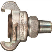 "Milton 1863-6 Twist Lock Universal Coupler 1/2"" MNPT 10 Pack"
