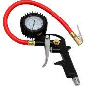 "EXELAIR™ Analog Pistol Grip Tire Inflator/Deflator Gauge, 0 to 150 PSI, 13"" Hose - EX0500P"