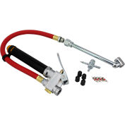 "EXELAIR™ Analog Bayonet Tire Inflator Gauge Kit, 0 to 120 PSI, 13"" Hose - EX0510BKIT"