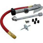 "EXELAIR™ Analog Tire Inflator Gauge Kit, 0 to 120 PSI, 13"" Hose - EX0510WKIT"