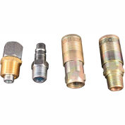 Milton S-224 G Style Industrial Coupler and Plug Reducer Kit 5 piece 5 Pack