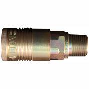 "Milton s-1816 G Style Industrial Coupler 1/2"" MNPT"