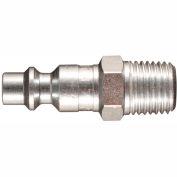"Milton s-727-5 M Style Industrial Plug 1/4"" MNPT - 5 Pack"