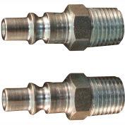 """Milton s-777 A Style ARO Plug 1/4"""" MNPT 2 Pack"""