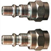"Milton s-778 A Style ARO Plug 1/4"" FNPT 2 Pack"
