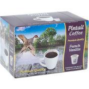 Pintail Coffee French Vanilla, Medium Roast, 0.53 oz., 12 K-Cups/Box - Pkg Qty 16