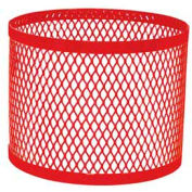 Round UltraCoat Outdoor Planter, Diamond - Red