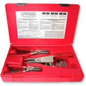Urrea 383 3 Piece Convertible Internal/External Retaining Plier Set