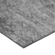 "Fabric-Reinforced High Strength Buna-N Rubber Sheet No Adhesive - 60A - 1/4"" Thick x 36"" W x 12"" L"