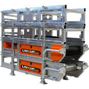"""LINKUP Portable Modular Dirt & Aggregate Conveyor, Série 400, 24'L x 16""""W"""