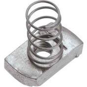 """Unistrut 1-5/8"""" Channel Nut P1008eg, Electro-Galvanized, 3/8-16 - Pkg Qty 100"""