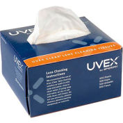 Uvex Clear Lens Cleaning Tissues, S462, 500/Box