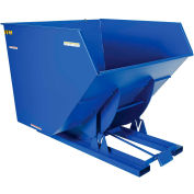 Vestil 4 Cu. Yd. Self-Dumping Heavy Duty Steel Hopper with Bump Release D-400-HD 6000 Lb.