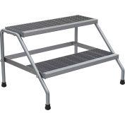 Vestil aluminium large étape Stand - étape 2 - SSA-2W-KD