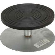 "Vestil Manual 8"" Diameter Turntable TT-8-4 4""H 500 Lb. Capacity"