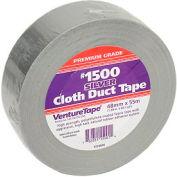 3M™ VentureTape #1500 tissu à usage général Ruban adhésif en tissu, 2 IN x 60 Yards, Argent