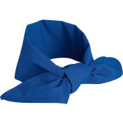 "Chef Designs Neckerchief, Royal Blue, Polyester/Cotton, 40"" x 20"""