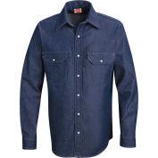 Red Kap® Men's Deluxe Denim Shirt Long-L SD78-SD78DNLNL