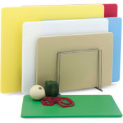 12x18x1/2 Cutting Board Multi-Color Set of 6 Boards