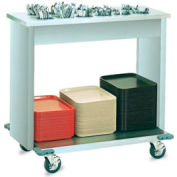 Vollrath® Signature Server®-Tray and Flatware Cart 38D x 22-1/2W x 34H