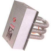 "Vulcan Finned Tubular Air Duct Heater VFT612-10C 10000W 480V 20"" x 7-7/8"""