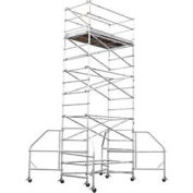 Werner 4202-18CA - Wide Span 8' x 18' Scaffold Tower