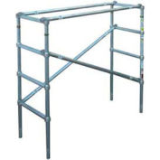 Werner 4207CA - Wide Span 4'H Scaffold Upper Section, 6' L
