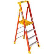 Werner PD6206CA - 6' Grade 1A CSA Fiberglass Podium Ladder 300 lbs