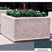 Wausau TF4205 jardinière carrée extérieure - Weatherstone Charcoal 60 x 60 x 36