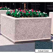 Wausau TF4205 Square Outdoor Planter - Weatherstone Charcoal 60x60x36