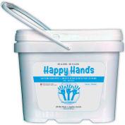 Lingettes désinfectantes pour les mains heureuses, 200 lingettes/seau, 8 seaux/caisse - HAPP01, qté par paquet : 8