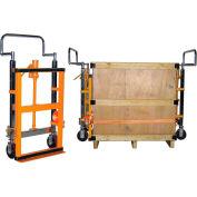 Les manuels de meubles hydraulique, Machine distributrice & équipement de déplacement capacité de 3950 livres de Dolly (paire)